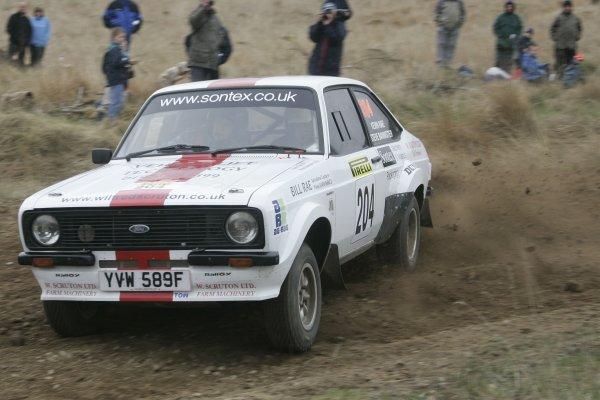 2006 British Rally Championship,Pirelli International Rally, Carlisle 13th-14th May 2006,Steve Bannister,World Copyright: Jakob Ebrey/LAT Photographic.