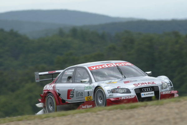 2005 DTM (German Touring Car) ChampionshipBrno, Czech Republic 4-5th June 2005 Tom Kristensen (Abt Audi A4) World Copyright: Andrew Ferraro/LAT Photographic Ref: Digital Image Only.