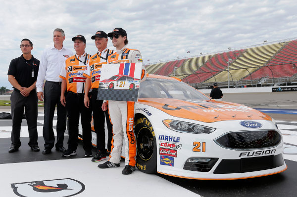 Monster Energy NASCAR Cup Series FireKeepers Casino 400 Michigan International Speedway, Brooklyn, MI USA Friday 16 June 2017 Ryan Blaney, Wood Brothers Racing, Omnicraft Auto Parts Ford Fusion World Copyright: Brett Moist  LAT Images