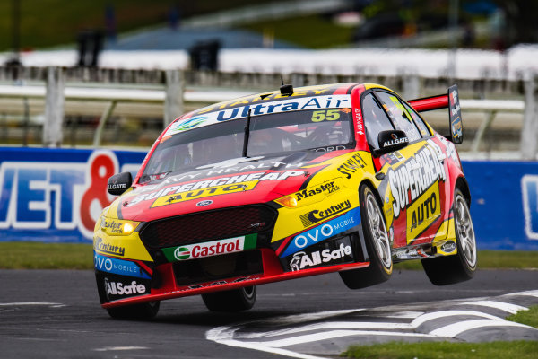 2017 Supercars Championship Round 14.  Auckland SuperSprint, Pukekohe Park Raceway, New Zealand. Friday 3rd November to Sunday 5th November 2017. Chaz Mostert, Rod Nash Racing Ford.  World Copyright: Daniel Kalisz/LAT Images  Ref: Digital Image 031117_VASCR13_DKIMG_0776.jpg