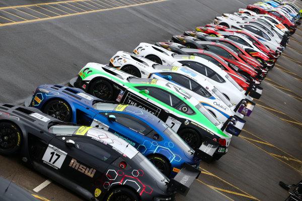2018 British GT Championship, 9th March 2018, Donington Park, England UK. British GT Cars World copyright. JEP/LAT Images