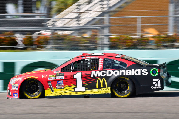 Monster Energy NASCAR Cup Series Ford EcoBoost 400 Homestead-Miami Speedway, Homestead, FL USA Friday 17 November 2017 Jamie McMurray, Chip Ganassi Racing, McDonald's Chevrolet SS World Copyright: Nigel Kinrade LAT Images