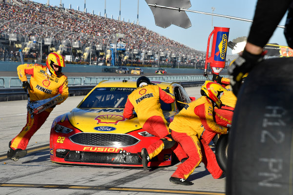 Monster Energy NASCAR Cup Series Ford EcoBoost 400 Homestead-Miami Speedway, Homestead, FL USA Sunday 19 November 2017 Joey Logano, Team Penske, Ford Fusion World Copyright: Rusty Jarrett LAT Images