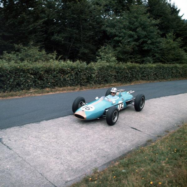 Nurburgring, Germany.3-5 August 1962.Jack Brabham (Brabham BT3 Climax).Ref-3/0629.World Copyright - LAT Photographic
