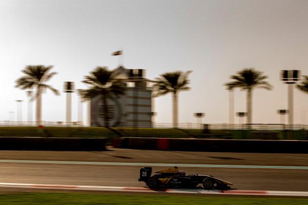 2016 GP3 Series Test 5. Yas Marina Circuit, Abu Dhabi, United Arab Emirates. Thursday 1 December 2016. Tarun Reddy (IND, DAMS)  Photo: Zak Mauger/GP3 Series Media Service. ref: Digital Image _X0W2946