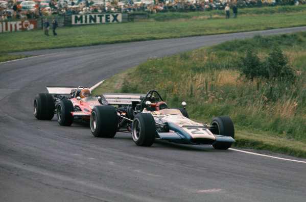 1970 International Gold Cup.  Oulton Park, Cheshire, England. 22nd August 1970.  David Prophet, McLaren M10B Chevrolet.  Ref: 70GC09. World Copyright: LAT Photographic