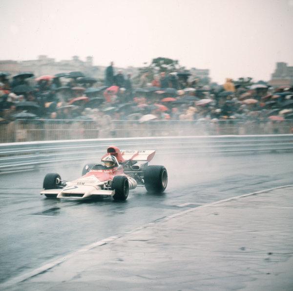 Monte Carlo, Monaco.11-14 May 1972.Jean-Pierre Beltoise (BRM P160B) 1st position.Ref-3/5067J.World Copyright - LAT Photographic