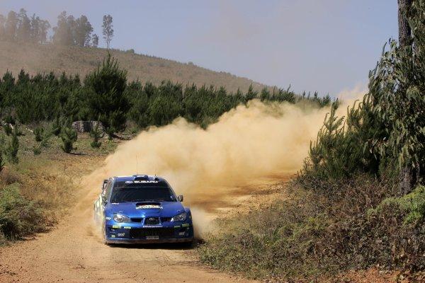 2006 FIA World Rally Champs. Round 6Rally Australia 26-29 October 2006Chris Atkinson, Subaru, actionWorld Copyright: McKlein/LAT