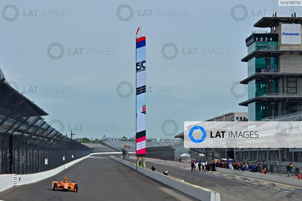 Fernando Alonso Andretti McLaren IndyCar Test
