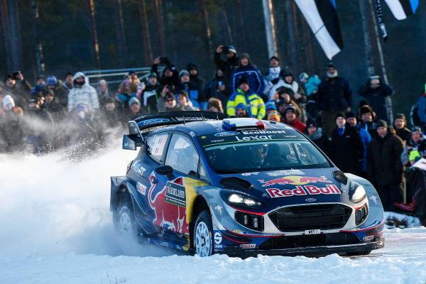 2017 FIA World Rally Championship, Round 02, Rally Sweden, February 09-12, 2017, Sebastien Ogier, Ford, Action, Worldwide Copyright: McKlein/LAT
