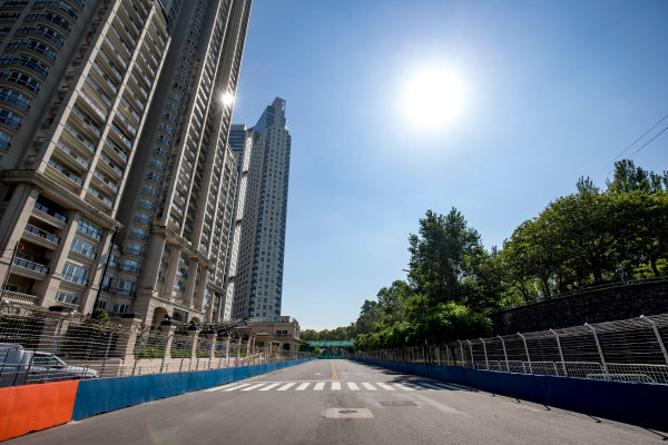 2016/2017 FIA Formula E Championship. Buenos Aires ePrix, Buenos Aires, Argentina. Friday 17 February 2017. A view of the track. Photo: Zak Mauger/LAT/Formula E ref: Digital Image _L0U8040