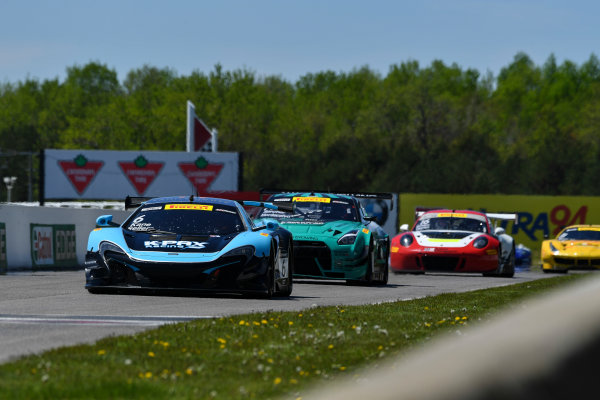 Pirelli World Challenge Victoria Day SpeedFest Weekend Canadian Tire Motorsport Park, Mosport, ON CAN Saturday 20 May 2017 Jonny Kane/Bryan Sellers World Copyright: Richard Dole/LAT Images ref: Digital Image RD_CTMP_PWC17065