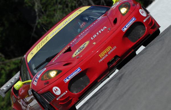 27-29 August, 2010, Bowmanville, Ontario, Canada.#61 Risi Competizione Ferrari 430 GT.©2010 Dan R. Boyd, USA LAT Photographic.