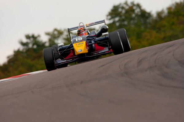 Dijon - Prenois, France. Saturday 09th October. Brendon Hartley (Carlin Motorsport Dallara F308 / Volkswagen). Action. World Copyright: Alastair Staley/LAT Photographic.Ref: _O9T7735 jpg