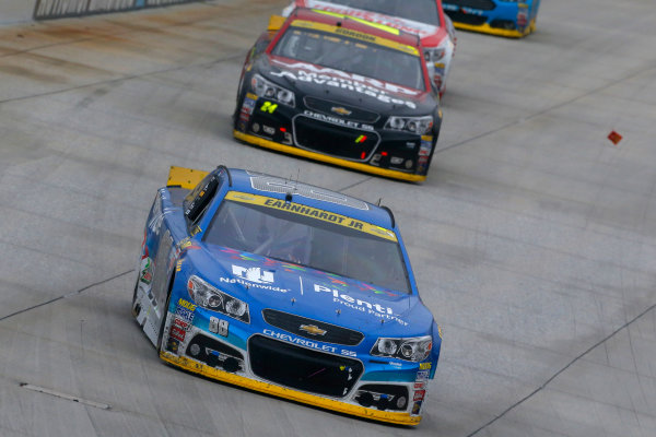 2-4 October, 2015, Dover, Delaware USA Dale Earnhardt Jr and Jeff Gordon ?2015, Russell LaBounty LAT Photo USA