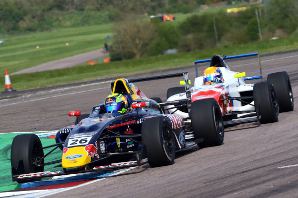 2016 British F4 Championship, Thruxton, 7th-8th My 2016, Luis Leeds (AUS) TRS Arden MSA Formula  World copyright. Jakob Ebrey/LAT Photographic