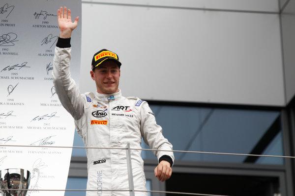 2015 GP2 Series Round 4. Red Bull Ring, Spielberg, Austria. Sunday 21 June 2015. Stoffel Vandoorne (BEL, ART Grand Prix)  Photo:  Sam Bloxham/GP2 Media Service ref: Digital Image _G7C6457