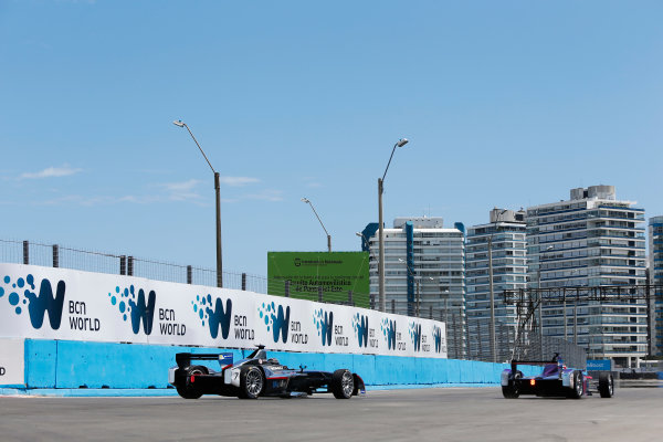 2014 FIA Formula E Championship. Punta del Este ePrix, Uruguay. Jerome D'Ambrosio (BEL)/Dragon Racing - Spark-Renault SRT_01E. Photo: Zak Mauger/LAT/FE ref: Digital Image _L0U9650