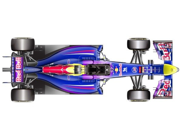 Red Bull RB10 top view