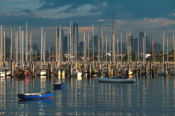 Albert Park, Melbourne, Australia.7-9 March 1997.The Marina.Ref-97 AUS 23.World Copyright - LAT Photographic