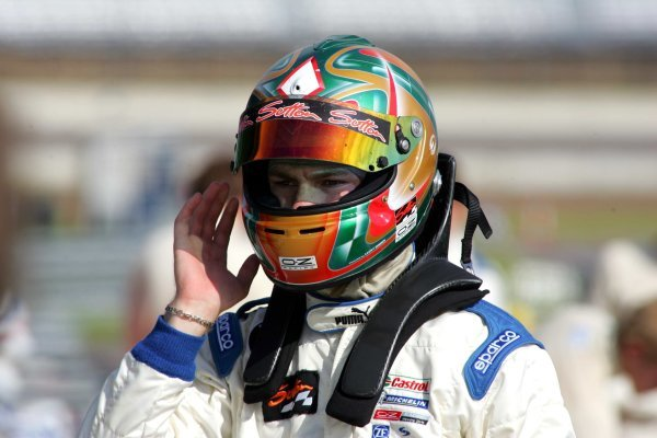 James Sutton (GBR) Fortec.Formula BMW UK Championship, Rockingham, England, 4-5 September 2004.DIGITAL IMAGE.