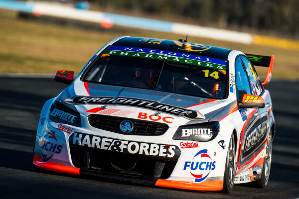 2017 Supercars Championship Round 8.  Ipswich SuperSprint, Queensland Raceway, Queensland, Australia. Friday 28th July to Sunday 30th July 2017. Tim Slade, Brad Jones Racing Holden.  World Copyright: Daniel Kalisz/ LAT Images Ref: Digital Image 280717_VASCR8_DKIMG_8218.jpg