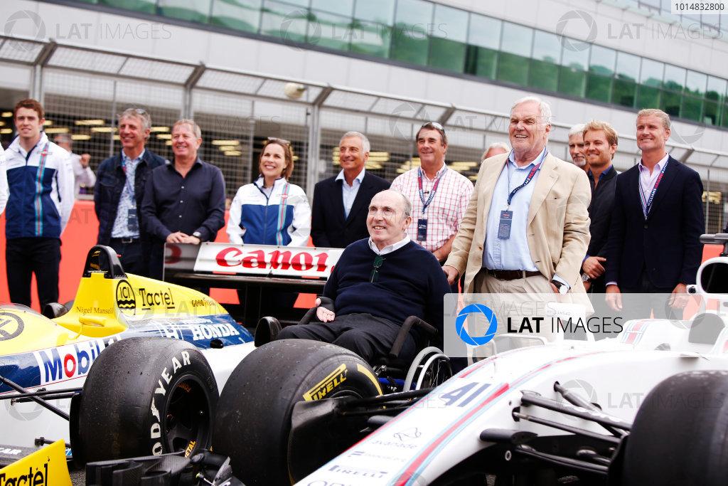 Williams F1 40th Anniversary Celebration