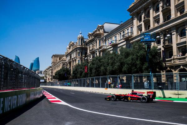 2017 FIA Formula 2 Round 4. Baku City Circuit, Baku, Azerbaijan. Friday 23 June 2017. Sergey Sirotkin (RUS, ART Grand Prix)  Photo: Zak Mauger/FIA Formula 2. ref: Digital Image _54I9568