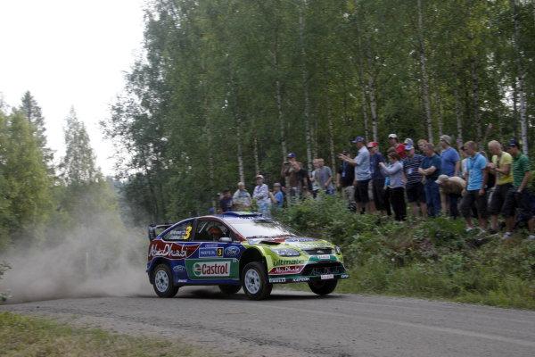 Round 08Rally Finland 29-31 July 2010Mikko Hirvonen, Ford WRC, ActionWorldwide Copyright: McKlein/LAT