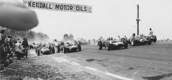 Watkins Glen, USA. 8th October 1961.