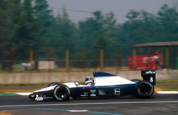 Mexico City, Mexico. 20th - 22nd March 1992. Giovanna Amati (Brabham BT60B Judd). She failed to qualify. Ref-92 MEX 09. World Copyright - LAT Photographic