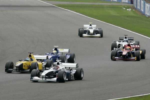 2006 F3000 ChampionshipSilverstone, England.13th August 2006J D'AmbrosioWorld Copyright - Ebrey/LAT Photographic