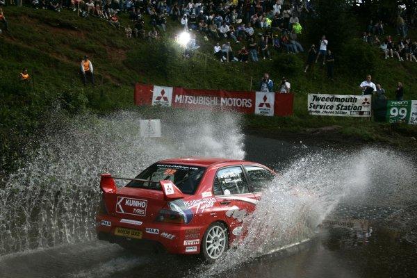 Rory GalliganJim Clark Rally2006 British Rally ChampionshipKelso, ScotlandWorldwide copyright: Ebrey/LAT Photographic