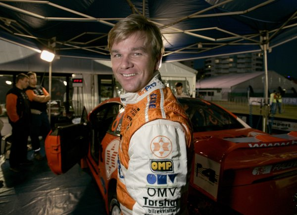 2006 FIA World Rally Champs. Round 6Rally Australia 26-29th October 2006Henning Solberg Peugeot portraitWorld Copyright: McKlein/LAT