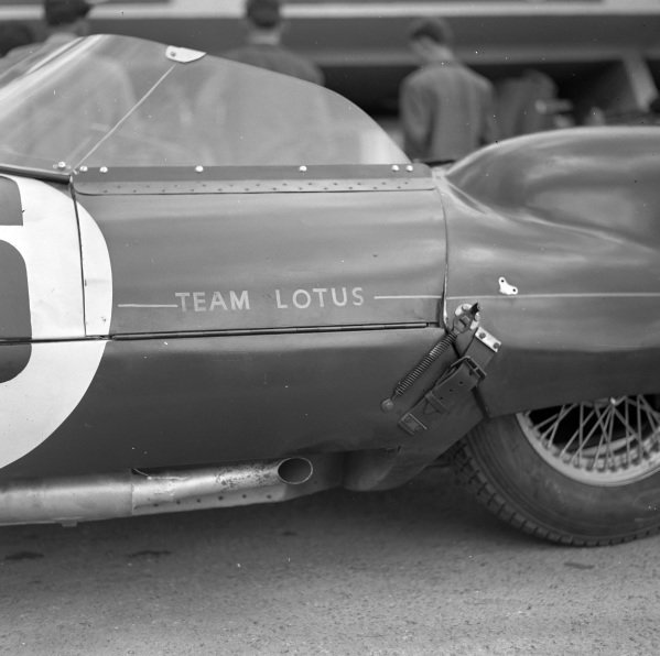 Reg Bicknell / Peter Jopp, Lotus Engineering, Lotus Eleven - Coventry Climax.