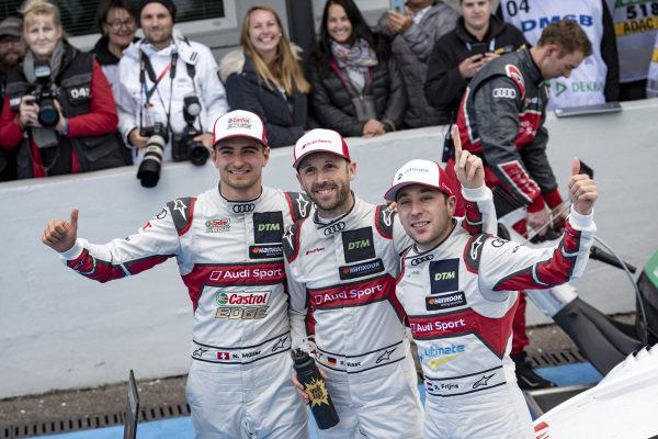 Nico Müller, Audi Sport Team Abt Sportsline, René Rast, Audi Sport Team Rosberg, Robin Frijns, Audi Sport Team Abt Sportsline