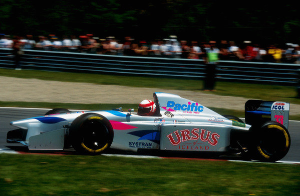 1994 Canadian Grand Prix.Montreal, Quebec, Canada.10-12 June 1994.Paul Belmondo (Pacific PR01 Ilmor). He failed to qualify.Ref-94 CAN 10.World Copyright - LAT Photographic