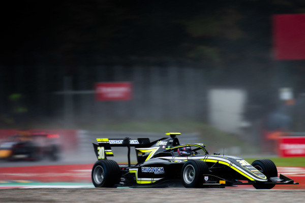 AUTODROMO NAZIONALE MONZA, ITALY - SEPTEMBER 06: Felipe Drugovich (BRA, Carlin Buzz Racing) during the Monza at Autodromo Nazionale Monza on September 06, 2019 in Autodromo Nazionale Monza, Italy. (Photo by Joe Portlock / LAT Images / FIA F3 Championship)