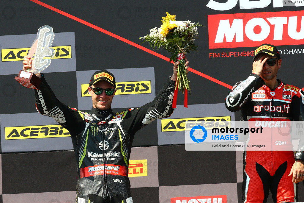 Jonathan Rea, Kawasaki Racing Team.
