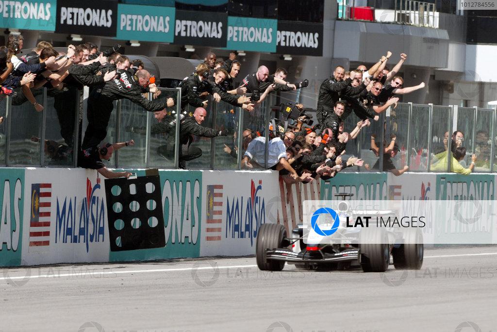 2003 Malaysian Grand Prix - Sunday Race