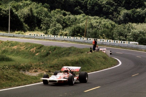 1970 French Grand Prix.Clermont-Ferrand, France.3-5 July 1970.Jo Siffert (March 701 Ford).Ref-70 FRA 25.World Copyright - LAT Photographic