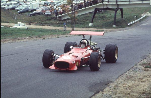 1968 Canadian Grand Prix.Mont-Tremblant, (St. Jovite), Quebec, Canada.20-22 September 1968.Chris Amon (Ferrari 312).Ref-68 CAN 67.World Copyright - LAT Photographic