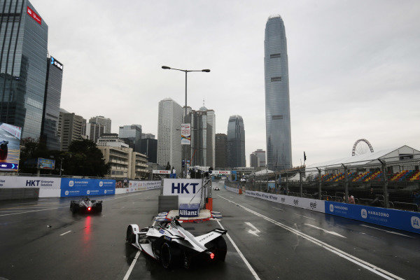 Jose Maria Lopez (ARG), GEOX Dragon Racing, Penske EV-3 going wide at the hairpin