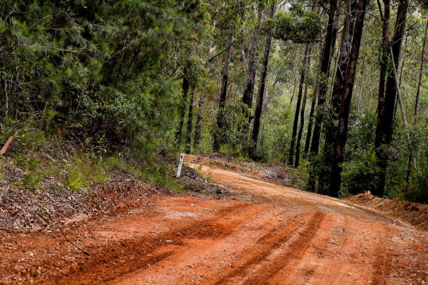 Stage / road at World Rally Championship, Rd13, Rally Australia, Preparations and Shakedown, Coffs Harbour, New South Wales, Australia, 16 November 2017.