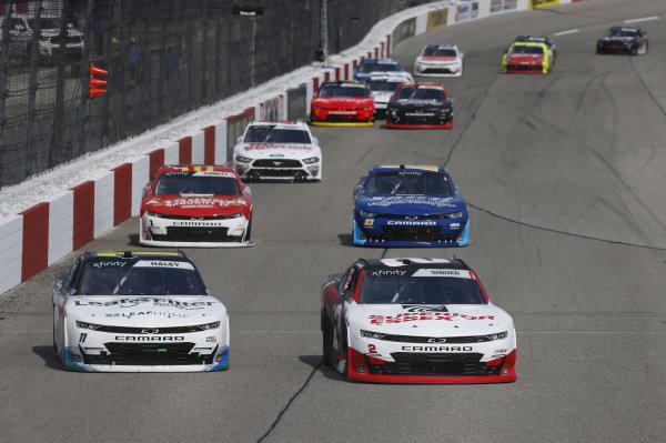 #2: Myatt Snider, Richard Childress Racing, Chevrolet Camaro Superior Essex, #11: Justin Haley, Kaulig Racing, Chevrolet Camaro LeafFilter Gutter Protection