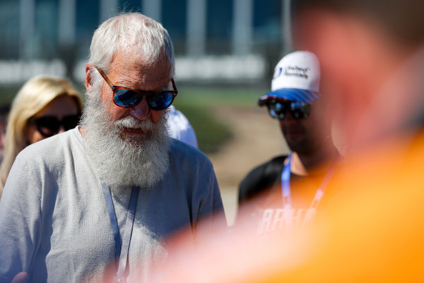 David Letterman, Graham Rahal, Rahal Letterman Lanigan Racing Honda team owner