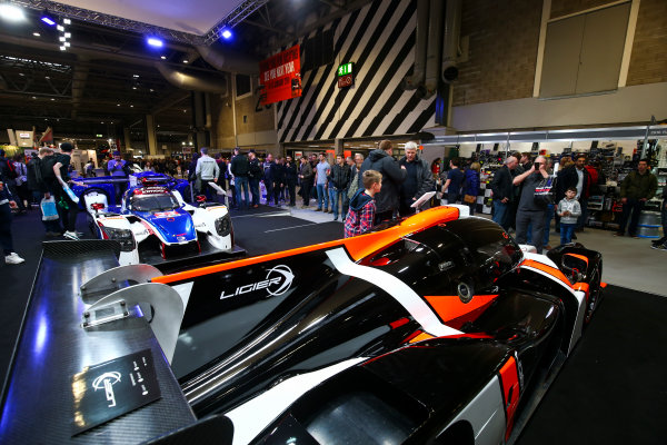 Autosport International Exhibition. National Exhibition Centre, Birmingham, UK. Sunday 14th January 2018. The Ligier stand.World Copyright: Mike Hoyer/JEP/LAT Images Ref: AQ2Y0011