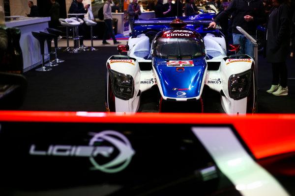 Autosport International Exhibition. National Exhibition Centre, Birmingham, UK. Saturday 13th January 2018. The Ligier stand.World Copyright: James Roberts/JEP/LAT Images Ref: JR3_5211