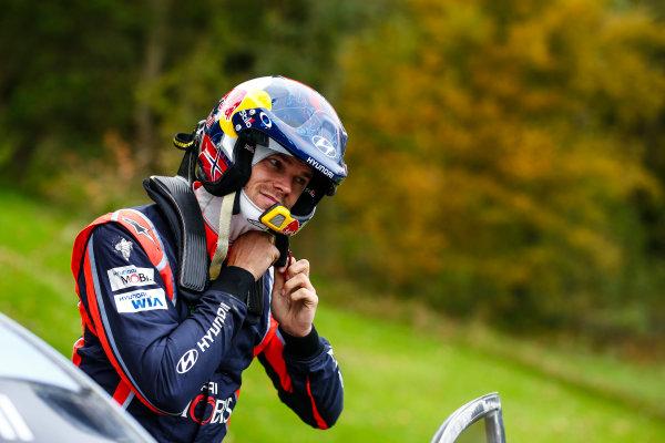 2017 FIA World Rally Championship, Round 12, Wales Rally GB, 26-29 October, 2017, Andreas Mikkelsen, Hyundai, portrait, Worldwide Copyright: LAT/McKlein
