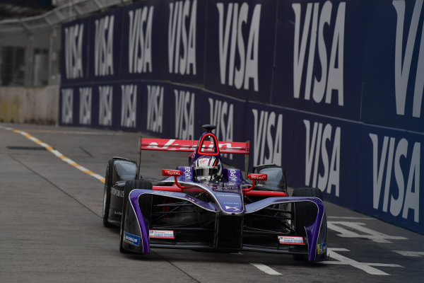 2017/2018 FIA Formula E Championship. Round 1 - Hong Kong, China. Saturday 02 December 2018. Alex Lynn (GBR), DS Virgin Racing, DS Virgin DSV-03. Photo: Mark Sutton/LAT/Formula E ref: Digital Image DSC_8297